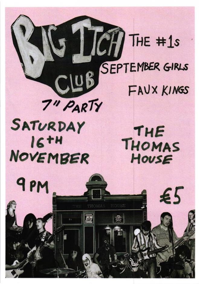 The Big Itch Club Totally Rocks 60 14th November