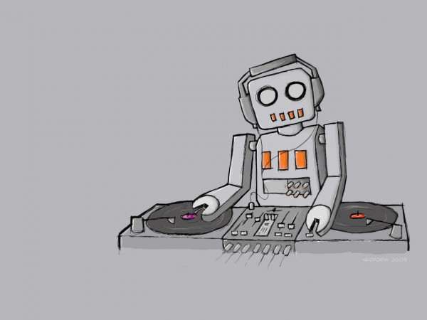 This Robot DJ Totally Rocks 14th August