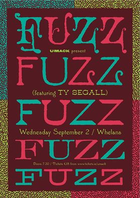 FUZZ in Whelans Next Wednesday is Gonna Totally Rock
